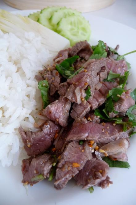 salade de boeuf laotienne
