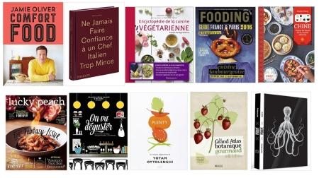 Ma sélection de livres de cuisine à offrir à Noël 2015 !