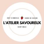 Logo l'atelier savoureux saint-malo